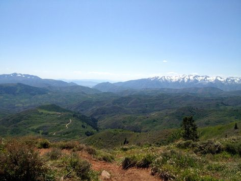 Strawberry Mountains Trail system