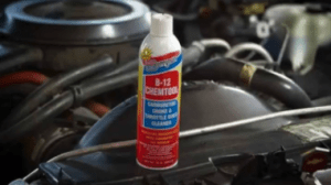 A picture of an ATV carb cleaner